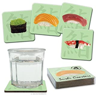 Sushi Coasters (4) by Accoutrements