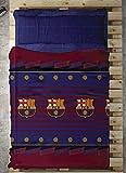 Tejidos Reina Barcelona Juego de Sabanas, Algodón y Poliéster, 38.0x28.0x4.5 cm