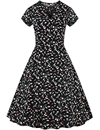 Valin M125618D Robe de bal Vintage pin-up 50's Rockabilly robe de soirée cocktail,S-XXXXL