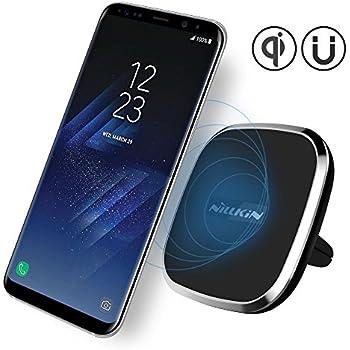 chargement sans fil magnétique support de voiture, Luxe Neotrix Qi standard téléphone Grille d