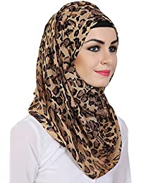 Momin libas viscose Multicolor with Printed Hijab and Scarf