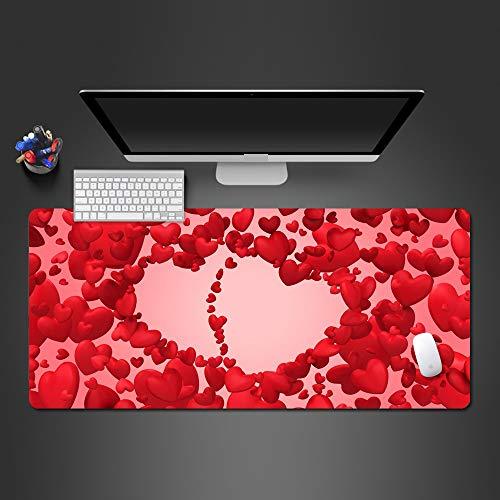 Mauspad High-End-Gaming-Mauspad Zahnrad Spieler Mauspad Computerspiel Computer Tastatur Tischset 800x300x2