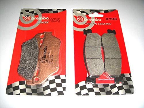 PASTIGLIE FRENO BREMBO ANTERIORI SINT + POST X MAX 250 2005 2006 2007 2008 2009