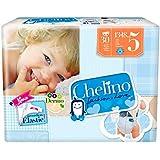 Chelino Fashion & Love Pasitos - Pañal infantil, talla 5, 30 pañales