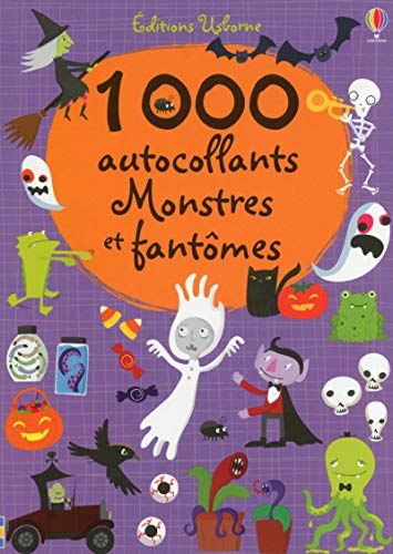 1000 autocollants - Monstres et fantômes