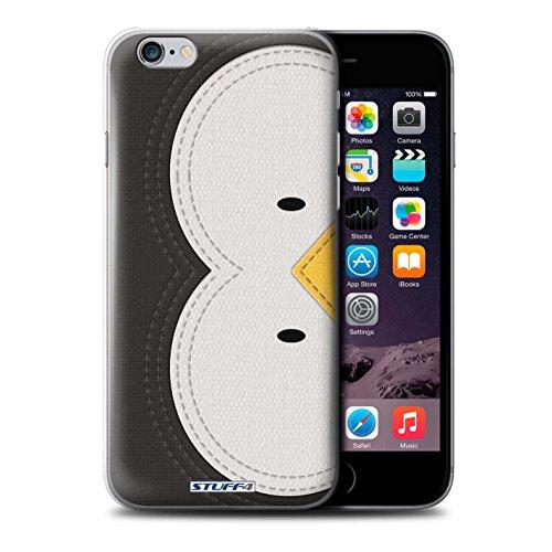 Stuff4 Hülle / Case für Apple iPhone SE / Pinguin Muster / Genähte Tier Effekt Kollektion Pinguin