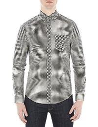 Ben Sherman - Camisa casual - Cuadrados - con botones - para hombre