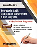 Sangeet Kedia's Secretarial Audit, Compliance Management & Due Diligence for CS Professional Dec. 2017 Exam by Anuj Sharma