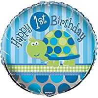 Blue Turtle 1st Birthday Party Supplies