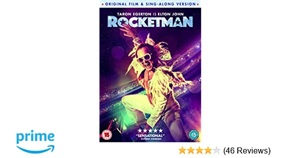 Rocketman (DVD) [2019]: Amazon co uk: DVD & Blu-ray
