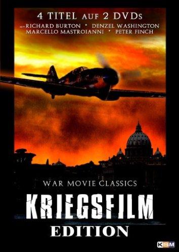 Kriegsfilm Edition (84 Charlie Mopic/Massaker in Rom/Panzerschiff Graf Spee/Für Königin und Vaterland) (2 DVDs)
