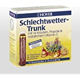 Hoyer Schlechtwetter-Trunk, BIO Trinkampullen 10x10ml