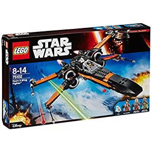 LEGO - FighterPoe's Fighter, Star Wars-Poe's X-Wing Fighter (75102) 17