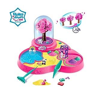 SO MAGIC- Jardin MAGICO PLAYSET Juguete, Color Rosa (Canal Toys 35)