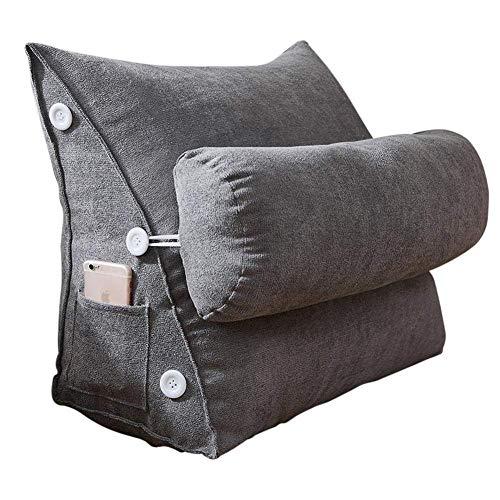 Almohada De Cuña Nordic Simple Korean Velvet Triangle Pillow Flex Back Support...