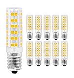 LED Lampe E14,MENTA, 7W Ersatz für 60W Halogen Lampen Warmweiß 3000K, E14 LED Birnen 450lm AC220-240V, Globaler 360° Abstrahlwinkel, 10er Pack