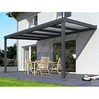 hochwertige alu terrassen berdachung veranda 420 x 300 bxt berdachung palram. Black Bedroom Furniture Sets. Home Design Ideas