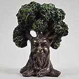 Fairy Garden UK Mini-Baum mit Ent-Gesicht für den Garten, Zuhause, Deko–Fee, Elfe, Pixie, Hobbit, zauberhafte Geschenkidee–Höhe 10 cm.