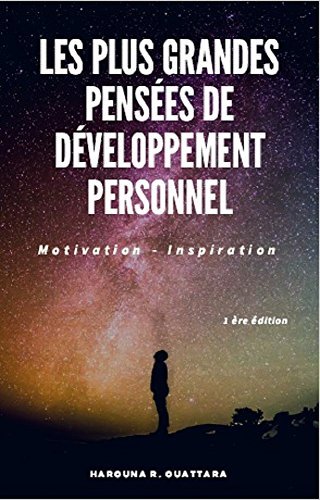 Couverture du livre Les Plus Grandes Pensées de Développement Personnel: Motivation - Inspiration