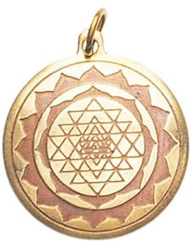 Shri Yantra Amulett Anhänger Talisman - Schutz und gutes Schicksal