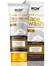 WOW Greek Yoghurt Face Wash No Parabens Sulphate Silicones