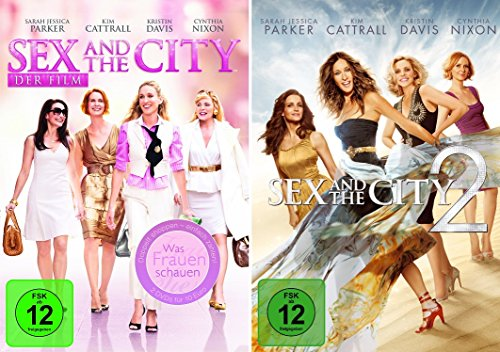 Sex and the City - Spielfilme 1+2 im Set - Deutsche Originalware [2 DVDs]
