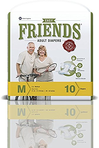 Friends Adult Diaper (Easy) – Medium