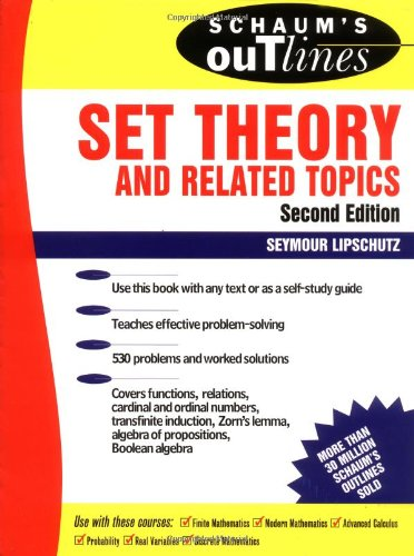 Schaum's Outline of Set Theory and Related Topics (Schaum's Outline Series)