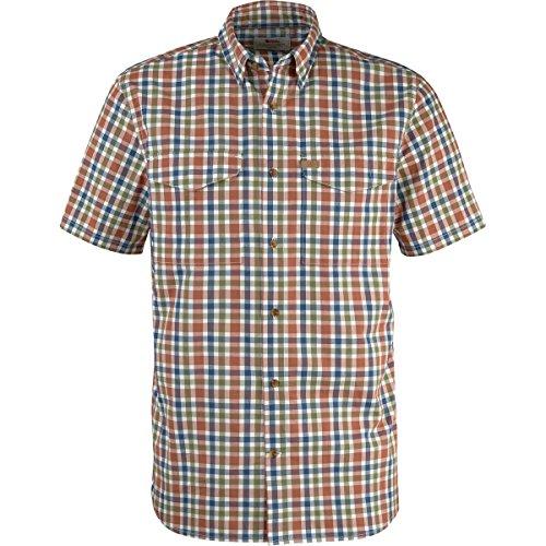 Fjällräven Herren Övik Shirt SS Oberhemd, Rust, L