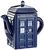 Dr Who DR182 - Dr Who Tardis, Teiera in ceramica, capacità: 750ml