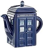 Doctor Who Teekanne Tardis aus Keramik