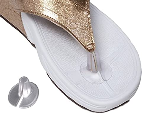 Silicone Thong Sandal Toe Protectors-Silipos Sandal Flip-Flop Gel Toe Guards Cushions Thong Protectors Set of 5 pair