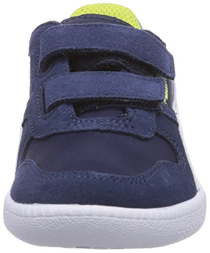 Puma Icra Trainer N/S Shades V Unisex-Kinder Sneakers Blau (peacoat-strong blue-white 01)