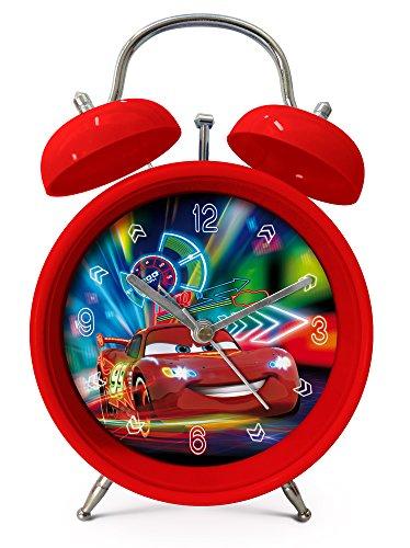 Cars Disney Lightning McQueen Kinder Wecker (Cars Wecker Disney)