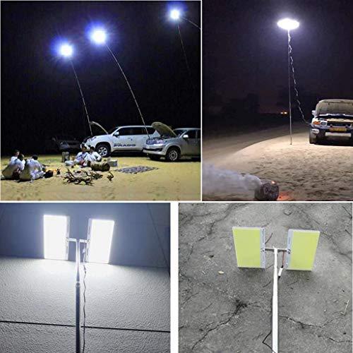 DIKHBJWQ Teleskop COB Rod LED Angeln Outdoor Camping Laterne Licht Lampe Wandern BBQ (Lichterkette/Light/Tischlampe/Nachttischlampe/Nachtlicht) -