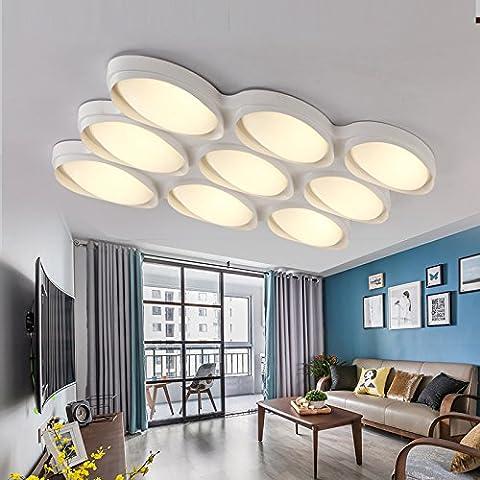 Modernes, minimalistisches Beleuchtung, LED Deckenleuchte, Wohnzimmer Lampe, modernen, minimalistischen Schlafzimmer, Licht dimmen, Electrodeless Dimmen, 32 W (70 * 54)