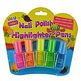 #1: Nail polish Highlighter Pens for Return gift (pack of 5)