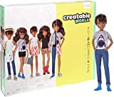 Creatable World GGT68 - Deluxe Charakter Set, individuell gestaltbare Puppe mit brünetten, welligen...