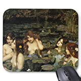 Hylas and The Nymphs, John Wm Waterhouse Mouse Pad