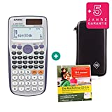 Casio FX-991ES Plus + Schutztasche + Lern-CD (auf Deutsch) + Erweiterte Garantie