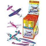 Fliegende Gleiter 20cm Mitgebseltüte Füller, Kinder Spiele & Preise (6 stück packung)