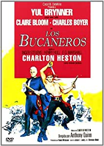 The Buccaneer (1958) - Region Free PAL, plays in English without subtitles