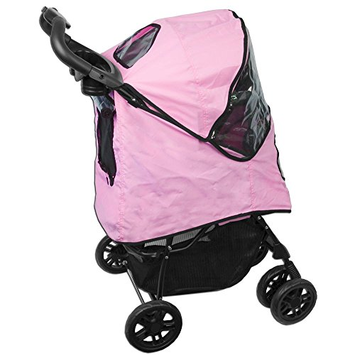 Pet Gear Happy Trails Hundebuggy, pink -