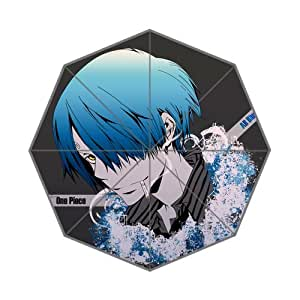 Customized Novelty Items Umbrella DIY One Piece Sanji Cooker 43.5 inch Auto Foldable Umbrella