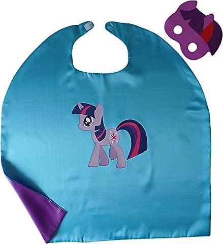 My Little Pony Twilight Sparkle Kindes Umhang & Maske