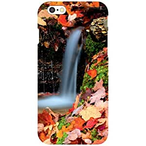 Via flowers Back Cover For Apple iPhone 6 Waterfall Multi Color