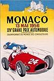 Poster 40 x 60 cm: Großer Preis von Monaco 1956