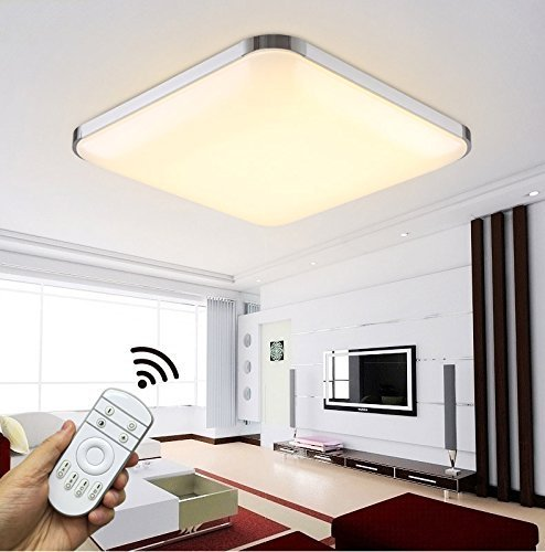 HS-Lighting LED Deckenlampe HS6501-54W voll dimmbar mit Fernbedienung