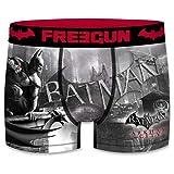 Freegun Boxershort Herren DC Comics Batman Arkham City (L, Logo)