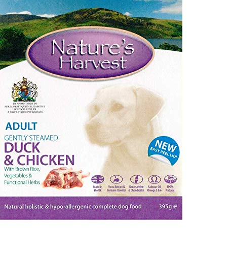 Natures Harvest (Natures Harvest Hundefutter Huhn und Pansen, 395g (Packung mit 10 Stück))